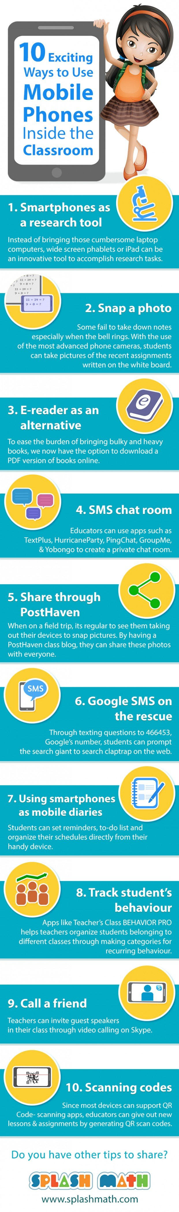 10 Good Ways to Integrate Mobile Phones in Class ~ Educational Technology and Mobile Learning