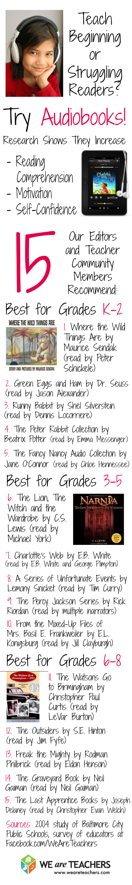audiobooks for students