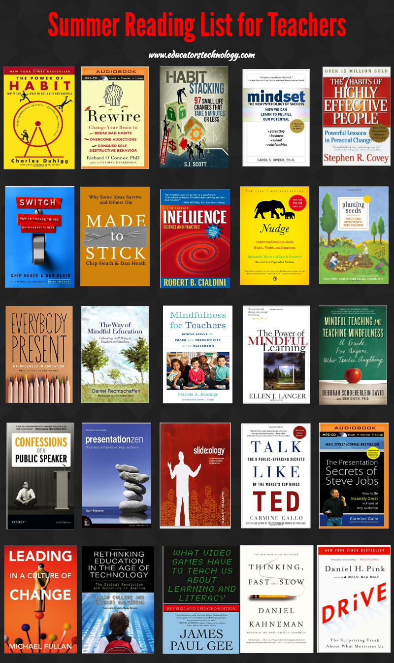 Summer Reading List For And By Teachers >> An Excellent Summer Reading List For Teachers And Educators