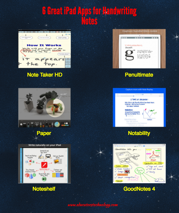 6 Great iPad Apps for Handwriting Notes