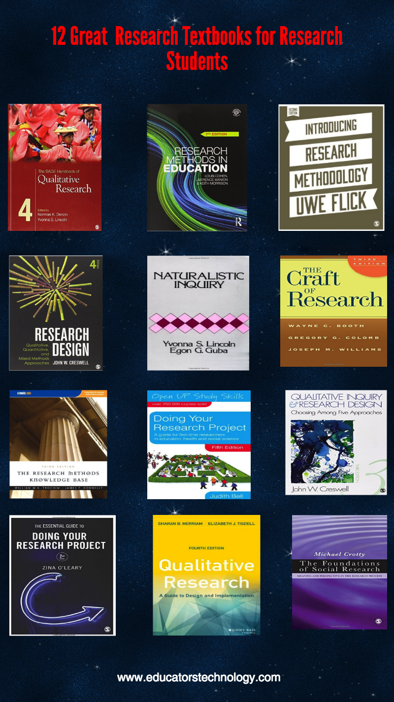 12 of The Best Research Methodology Textbooks for Research Students and Educators