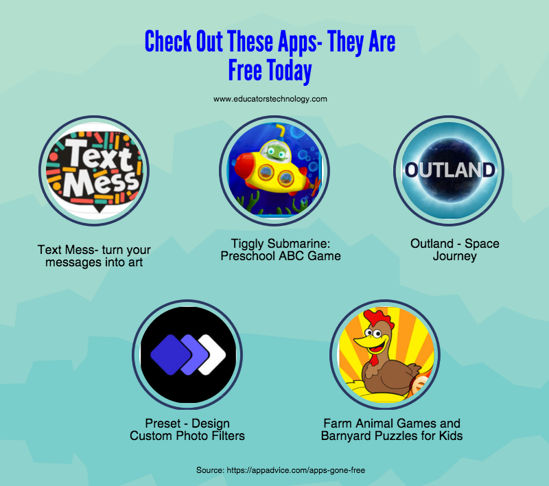 Check Out These Apps They Are Free Today Educational
