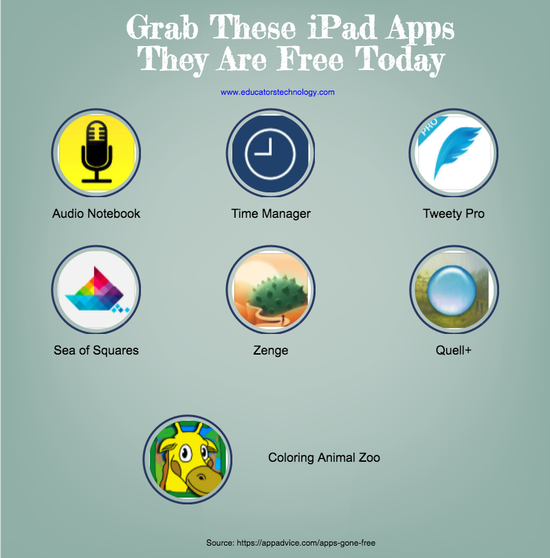 Grab These iPad Apps- They Are Free Today