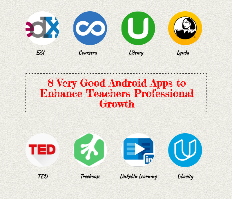 8 Very Good Android Apps to Enhance Teachers Professional Growth