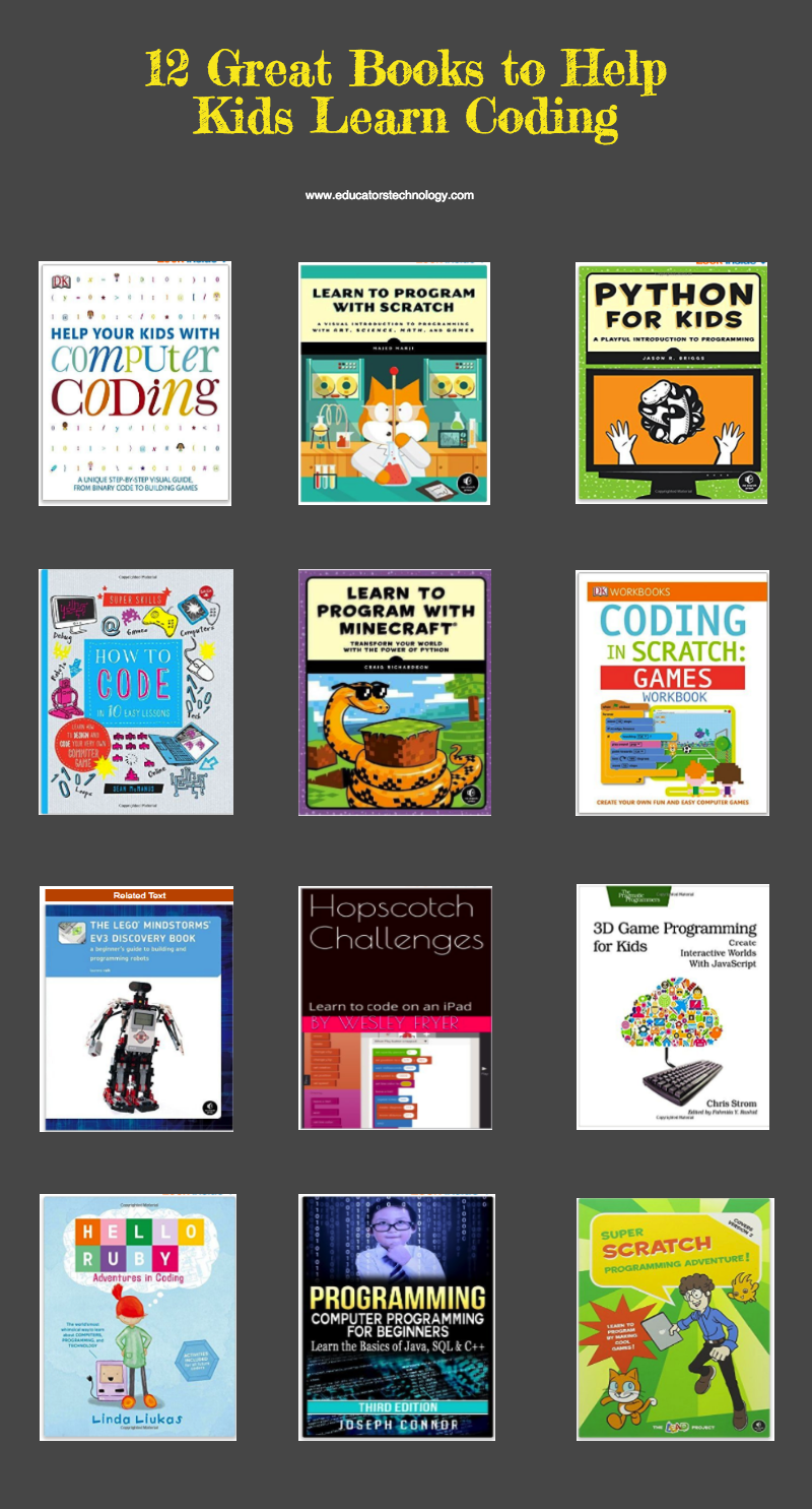 12 Great Books to Help Kids Learn Coding