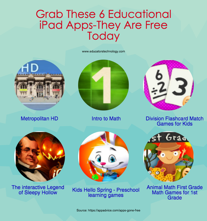 Grab These 6 Educational iPad Apps-They Are Free Today