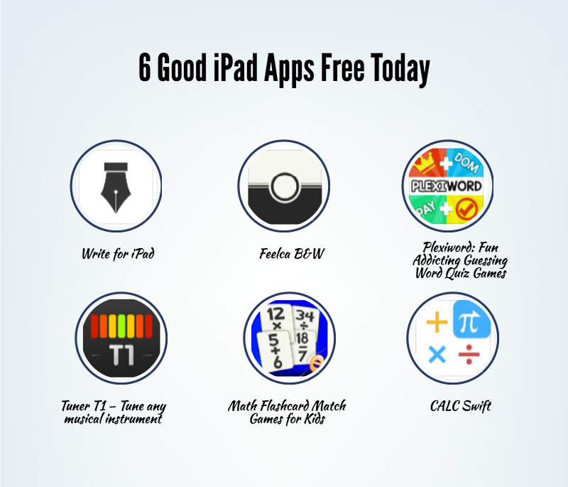 6 Good iPad Apps Free Today