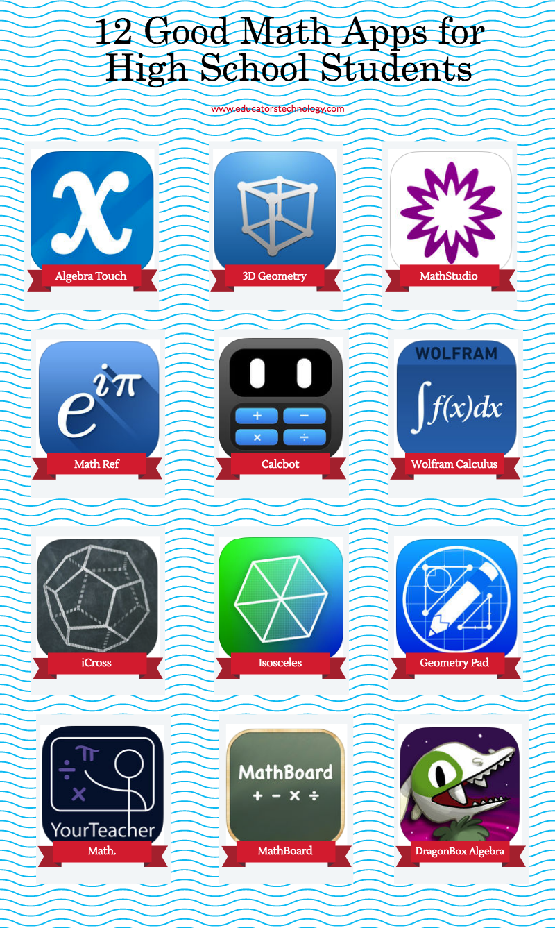 12 Good Math Apps for High School Students | Educational