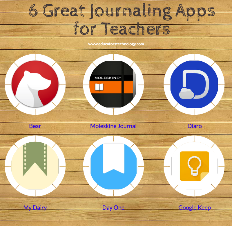 6 Great Journaling Apps for Teachers