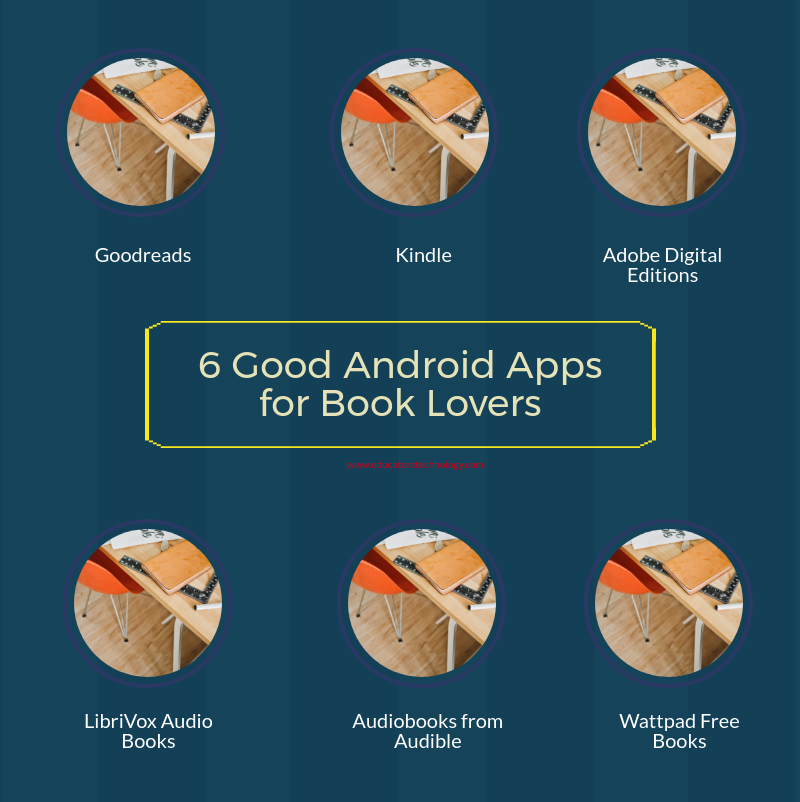 6 Good Android Apps for Book Lovers | Educational Technology and