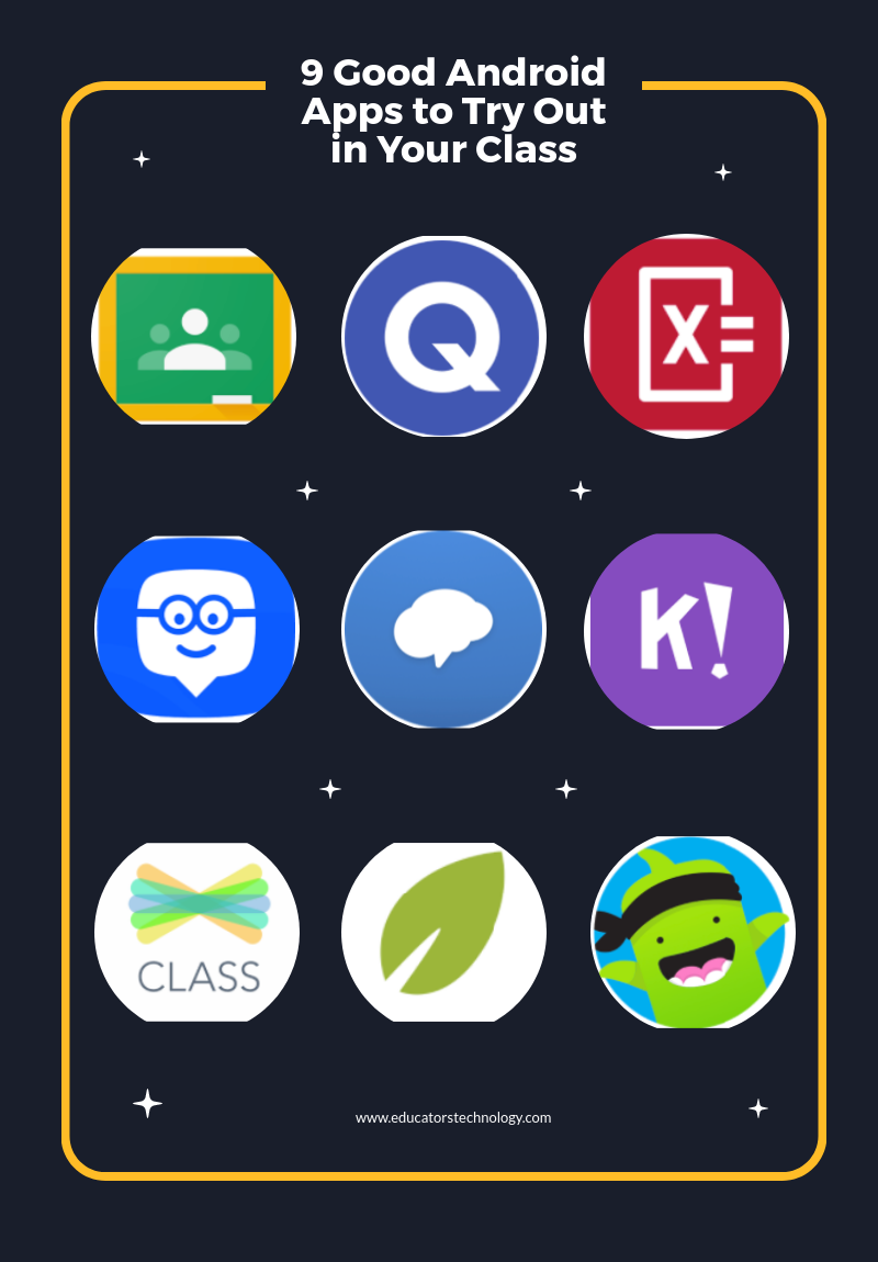 9 Good Android Apps to Try Out in Your Class