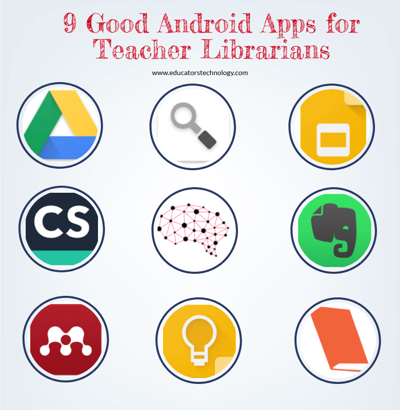 9 Good Android Apps for Teacher Librarians
