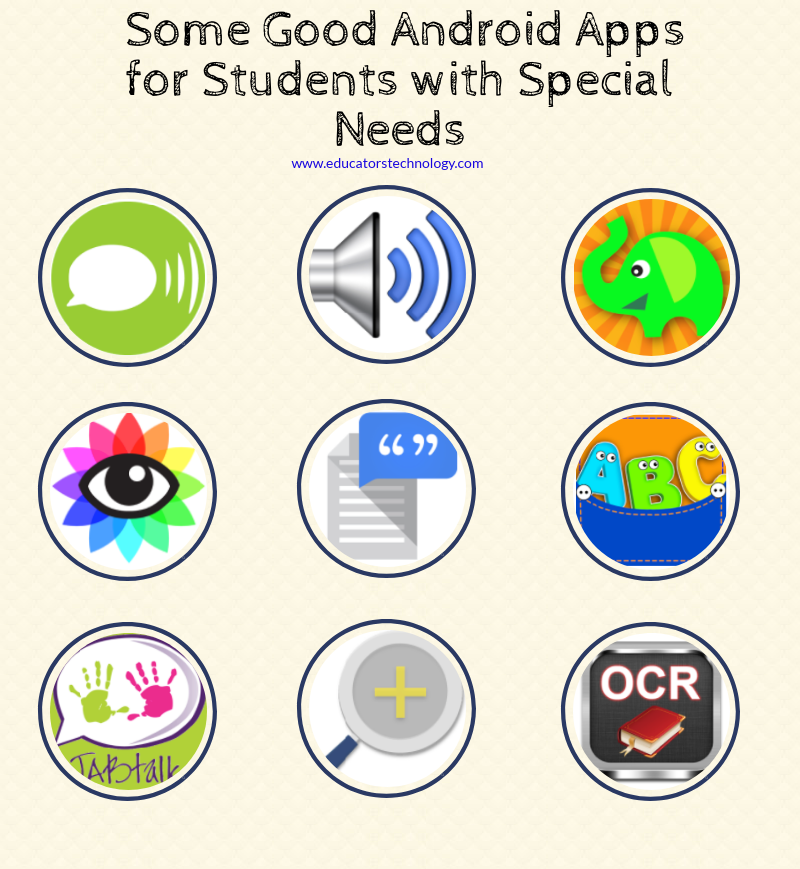 Here Are Some Good Android Apps for Students with Special Needs