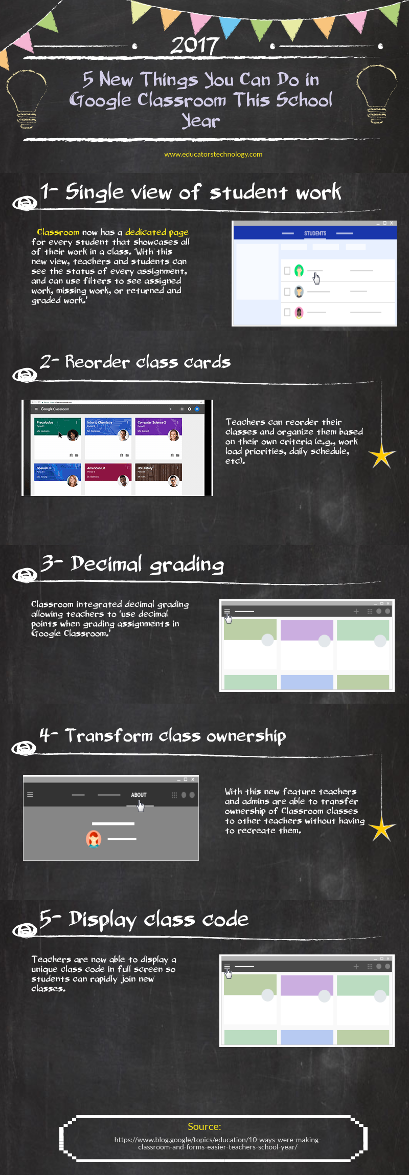 5 New Things You Can Do in Google Classroom This School Year