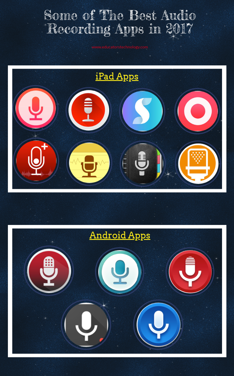 Some of The Best Audio Recording Apps in 2017
