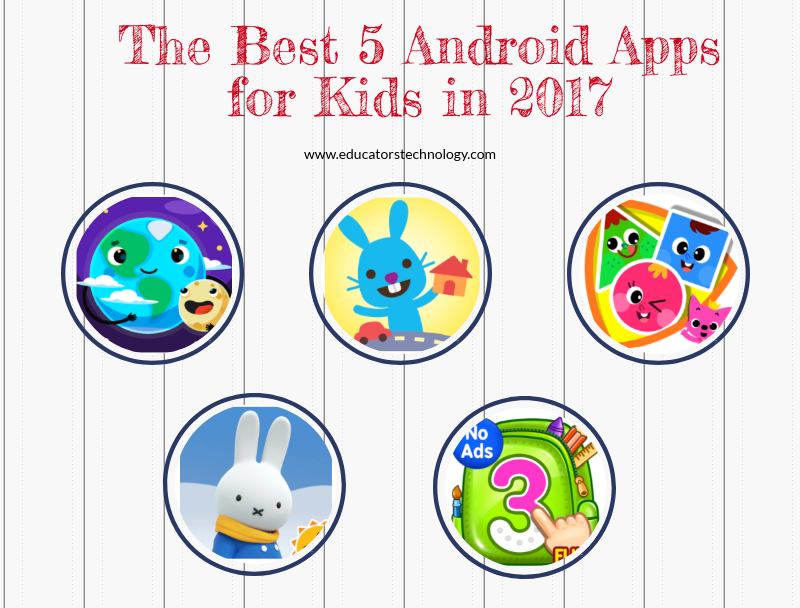 The Best 5 Android Apps for Kids in 2017 | Educational Technology
