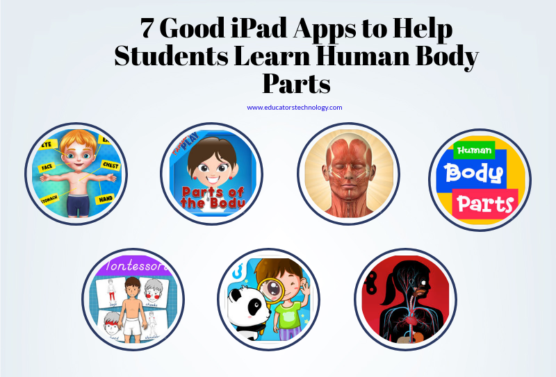 7 Good iPad Apps to Help Students Learn Human Body Parts