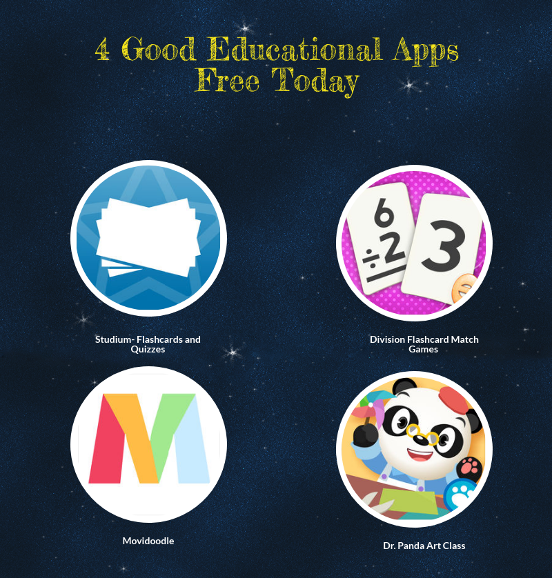 4 Good Educational Apps Free Today | Educational Technology